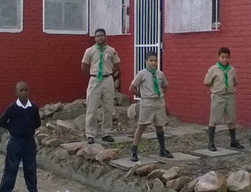 Upgrade of the Steenberg Scouts for Mandela Day